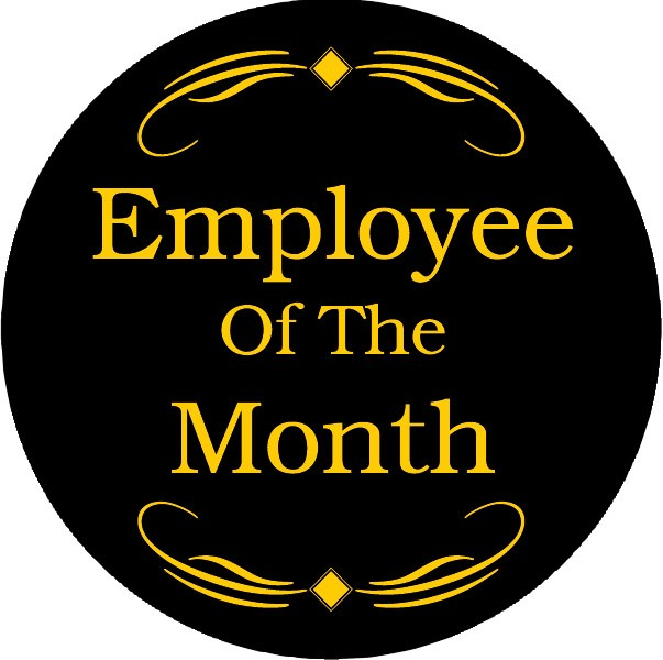 employee of the month emblem