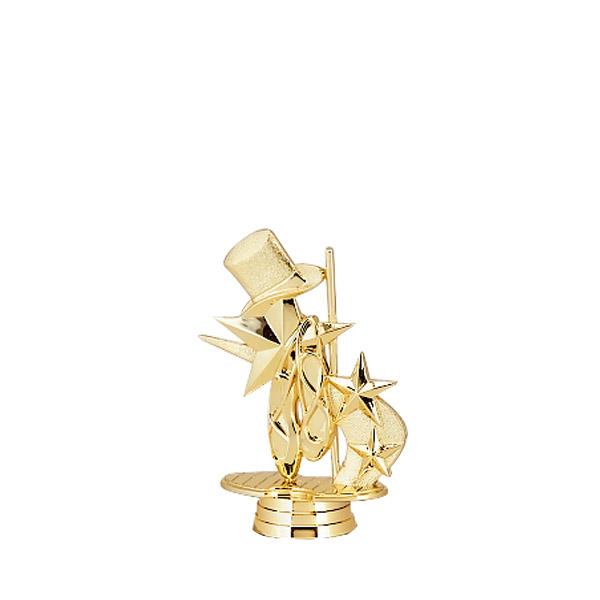 3d Dance Gold Trophy Figure