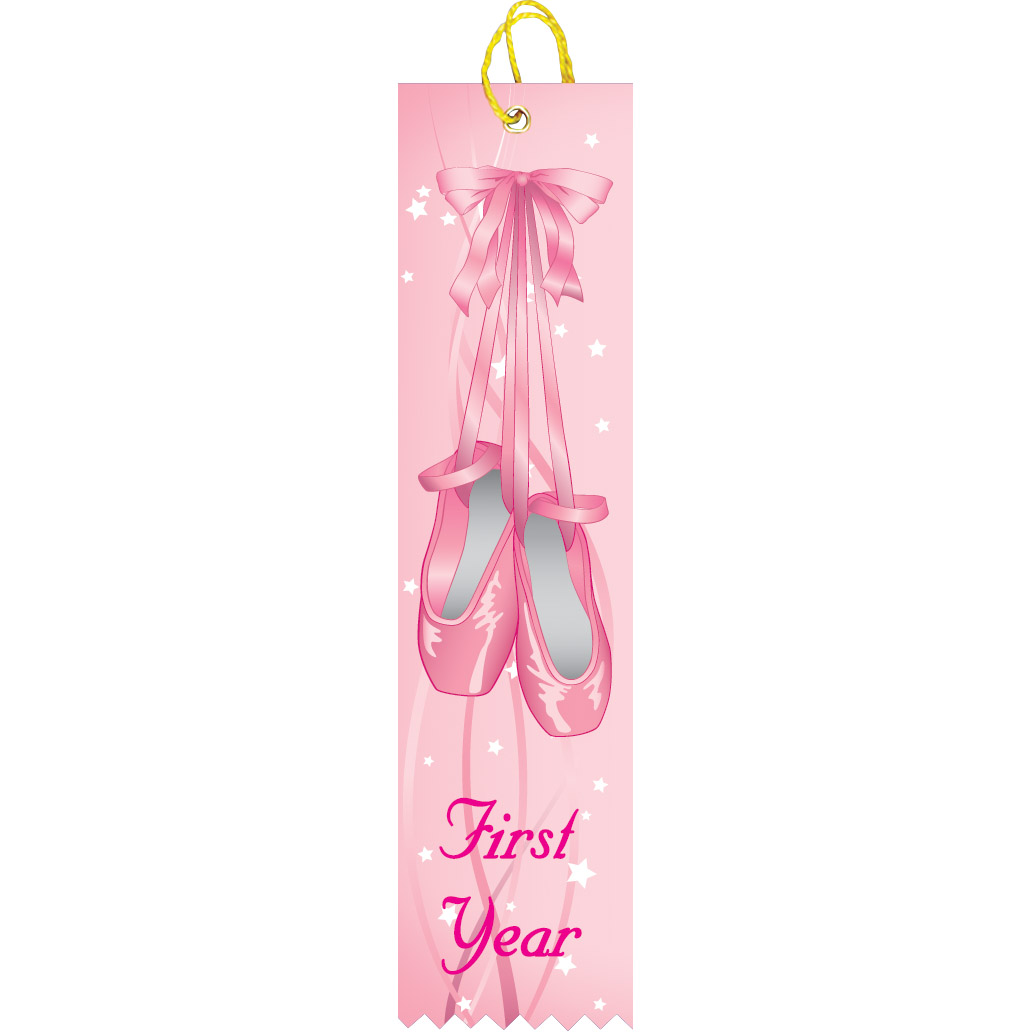 First Year Dance Ribbon