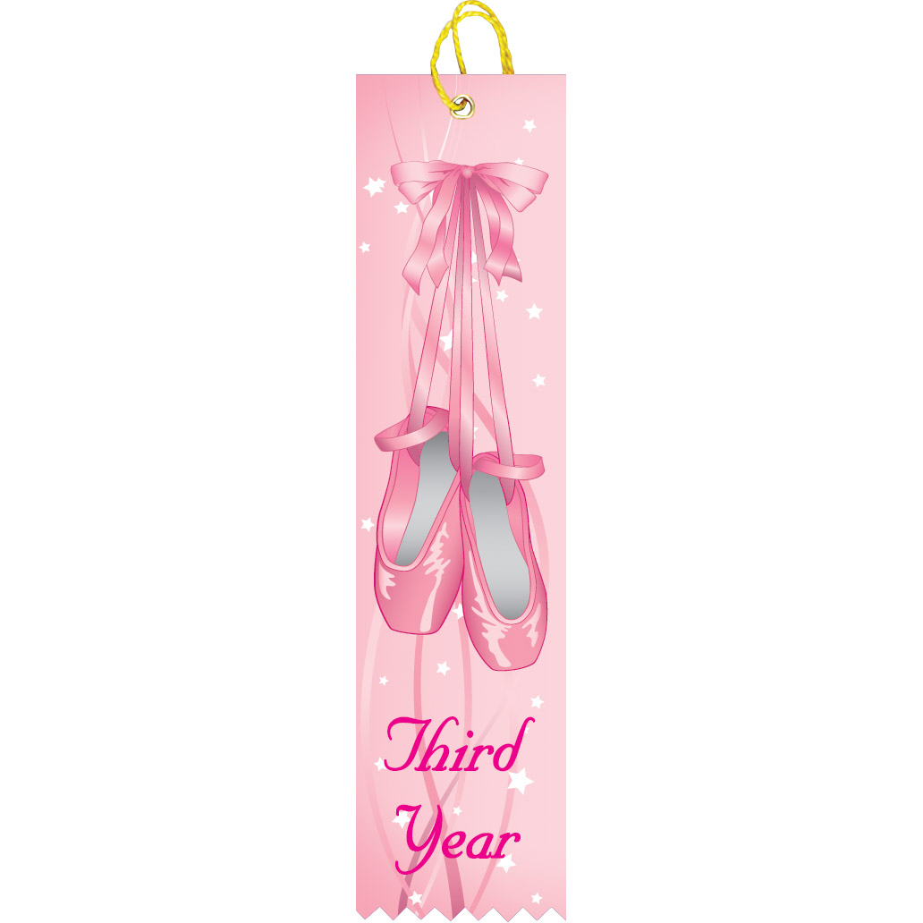 Third Year Dance Ribbon
