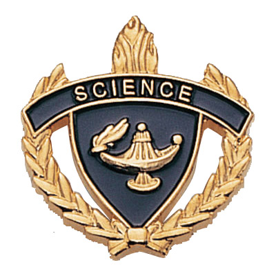 "1"" x 1"" Science Clutch Pin Back"