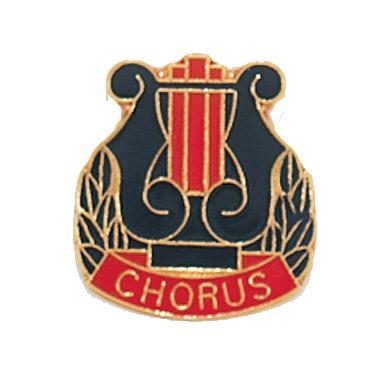 "3/4"" x 3/4"" Chorus Clutch Pin Back"