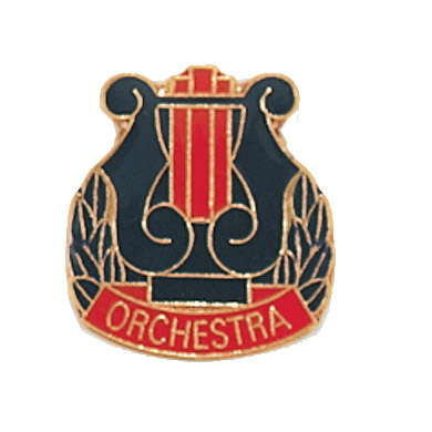 "3/4"" x 3/4"" Orchestra Clutch Pin Back"