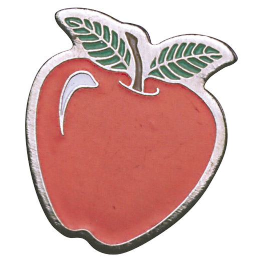 Apple Recognition Pin