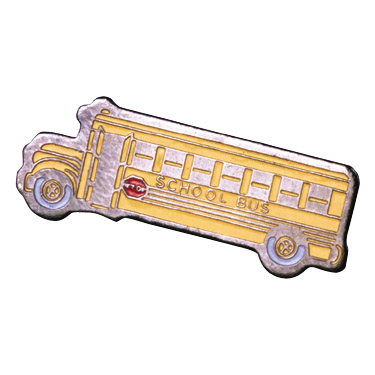 School Bus Recognition Pin
