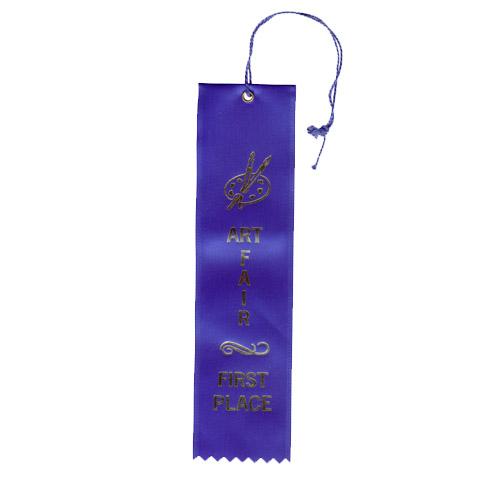 """2"""" x 8"""" Art Fair First Place Ribbon"""