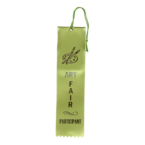 "2"" x 8"" Art Fair Participant Ribbon"