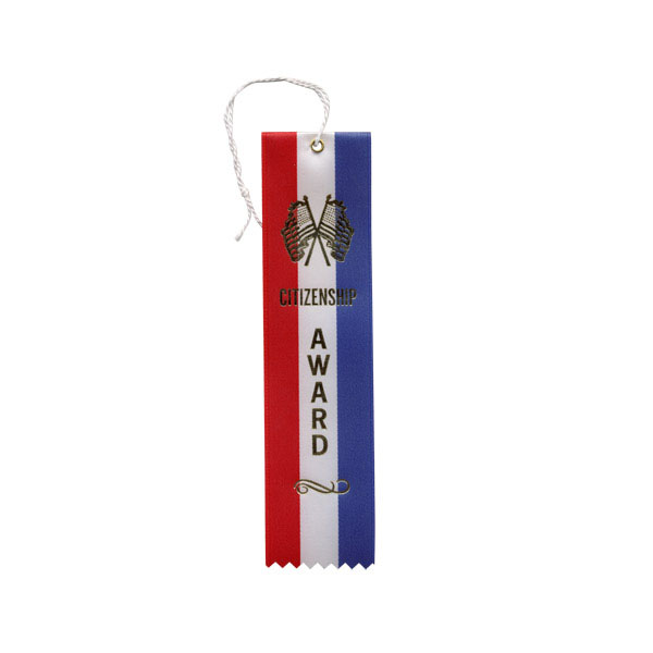 "2"" x 8"" Citizenship Award Ribbon"