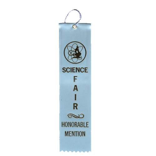 "2"" x 8"" Science Fair Honorable Mention"