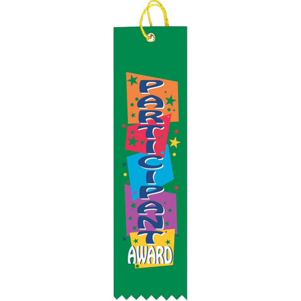 "2"" x 8"" Participant Ribbon"