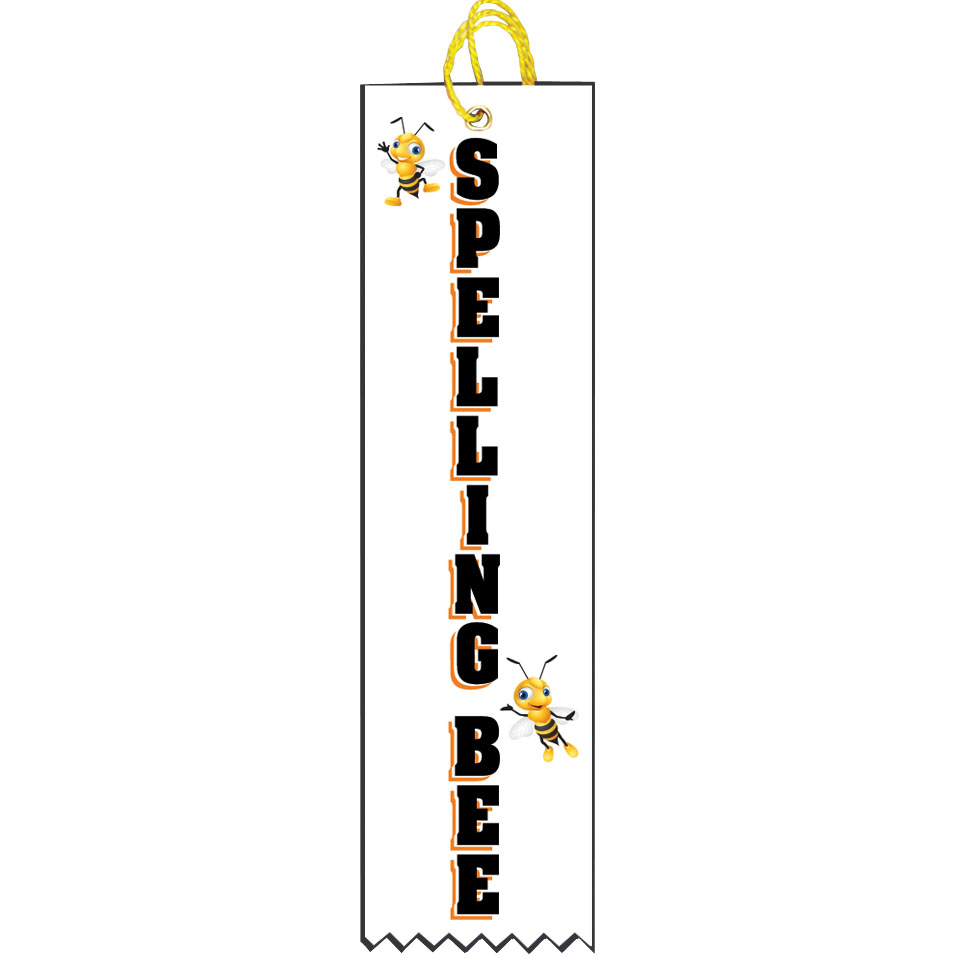 "2"" x 8"" Spelling Bee Ribbon"
