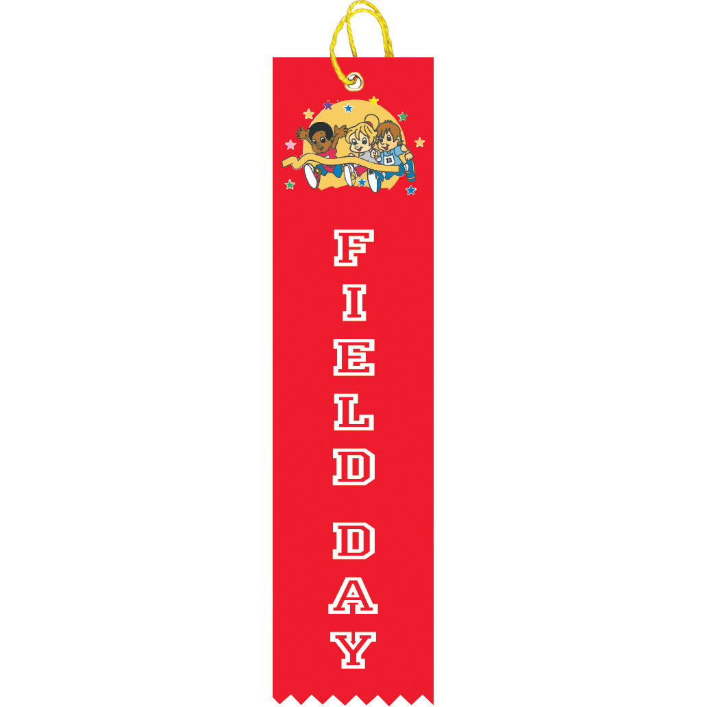 "2"" x 8"" Field Day Ribbon"