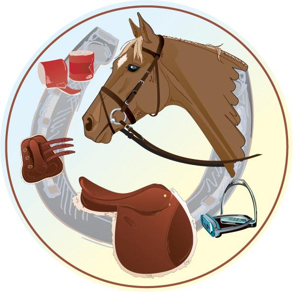 English Horse Emblem