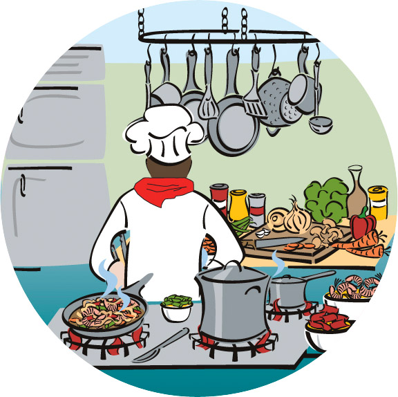 Chef Culinary Emblem