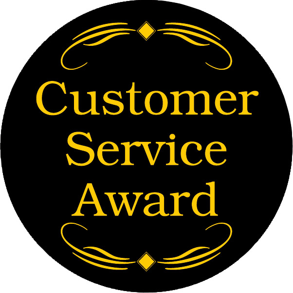 Customer Service Award Emblem