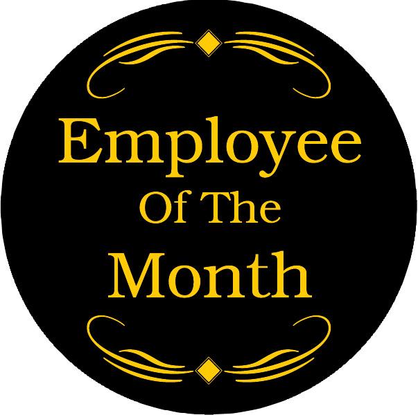 Employee of the Month Award Emblem