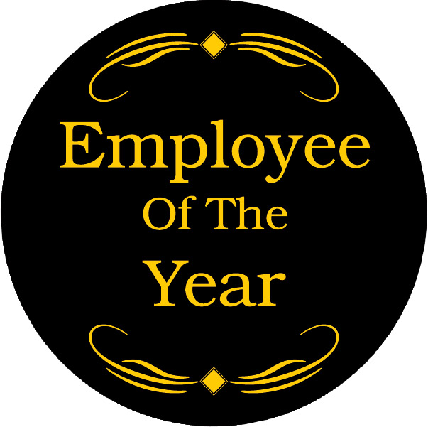 Employee of the Year Award Emblem