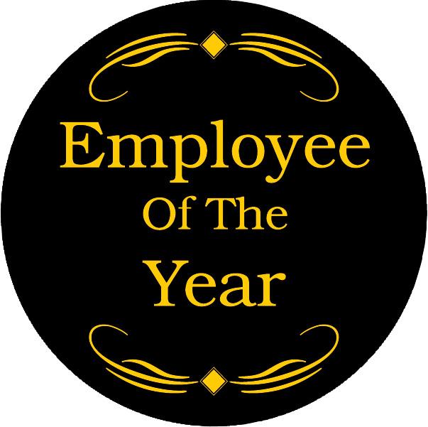 Employee of the Year Award Emblem