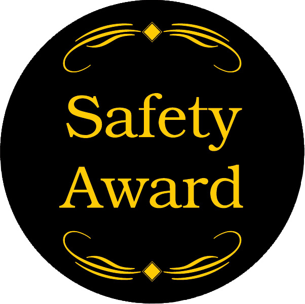 Safety Award Emblem