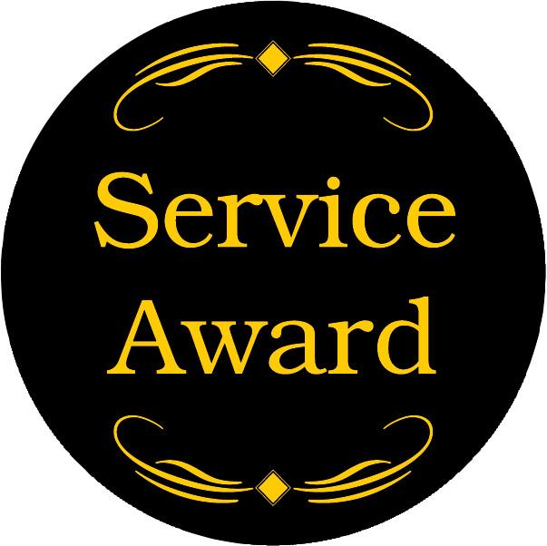 Service Award Emblem