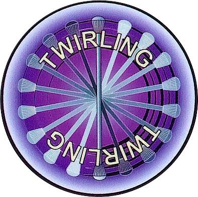Twirling Emblem