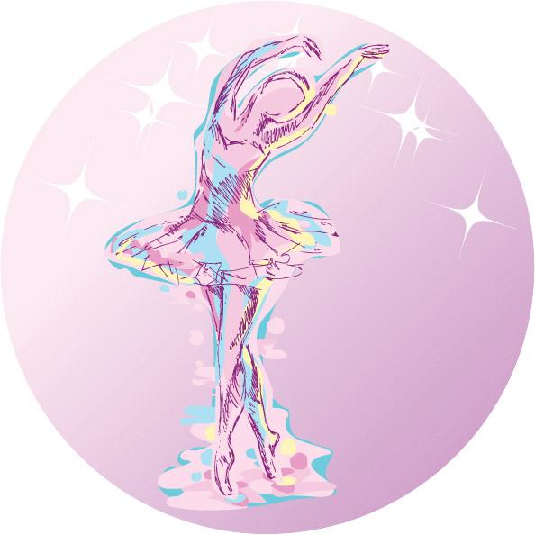 Ballerina Emblem