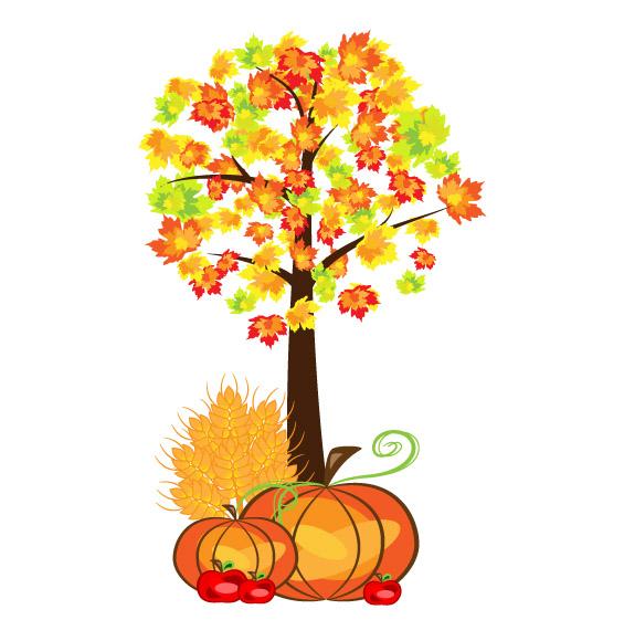Fall Festival - Autumn Leaves Emblem