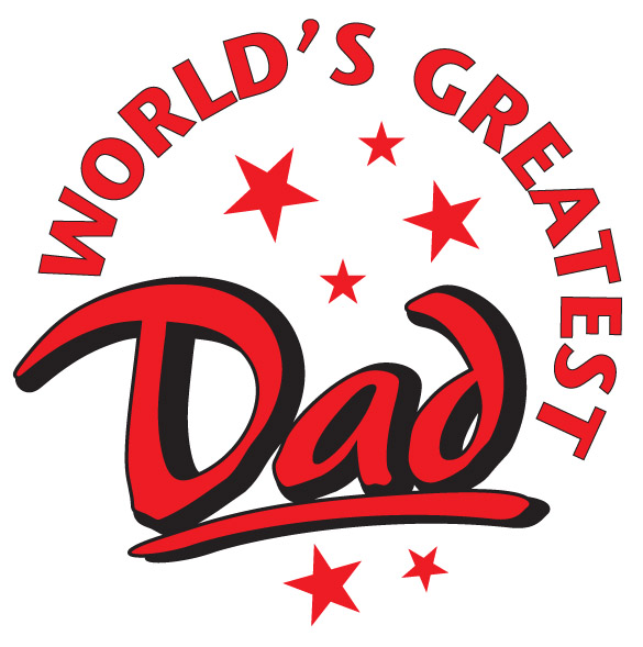 World's Greatest Dad Emblem