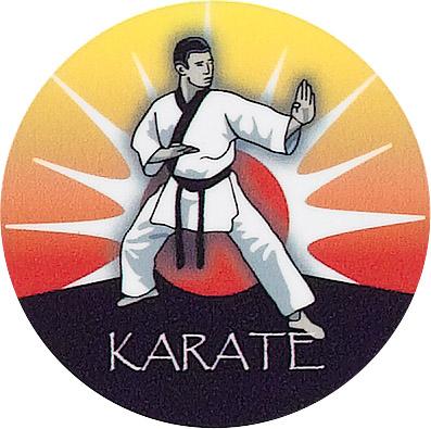 Karate Emblem