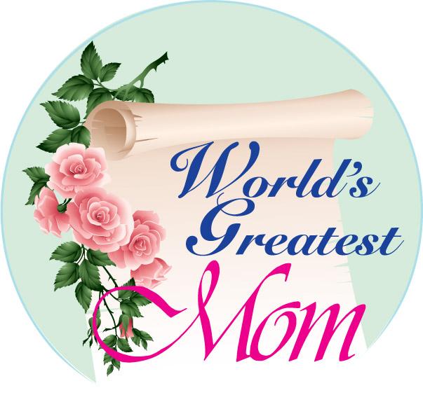 World's Greatest Mom Emblem
