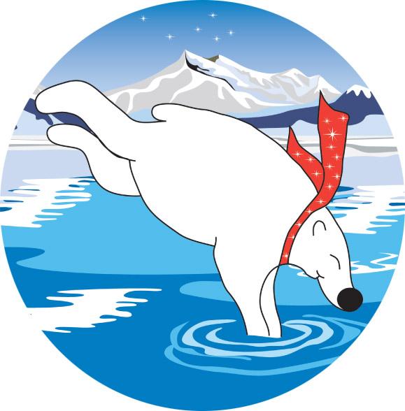 Polar Bear Plunge Emblem