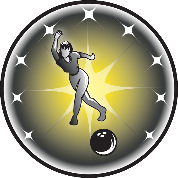 Female Bowler Emblem