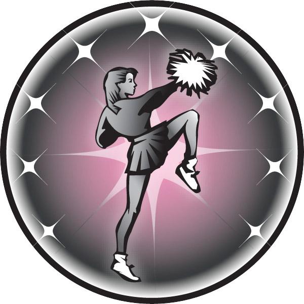 Cheerleader Emblem
