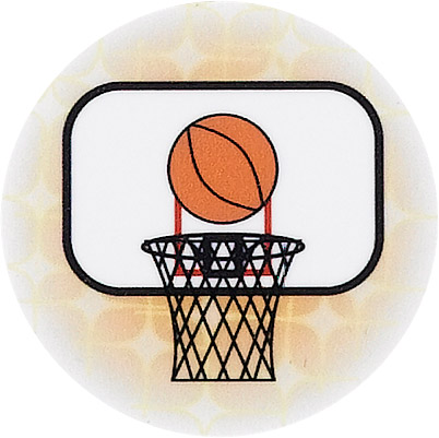 Basketball Hoop Emblem