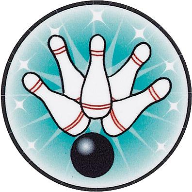 Bowling Duckpin Emblem