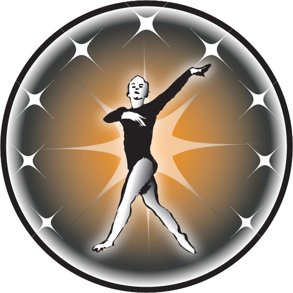 Female Gymnast Emblem