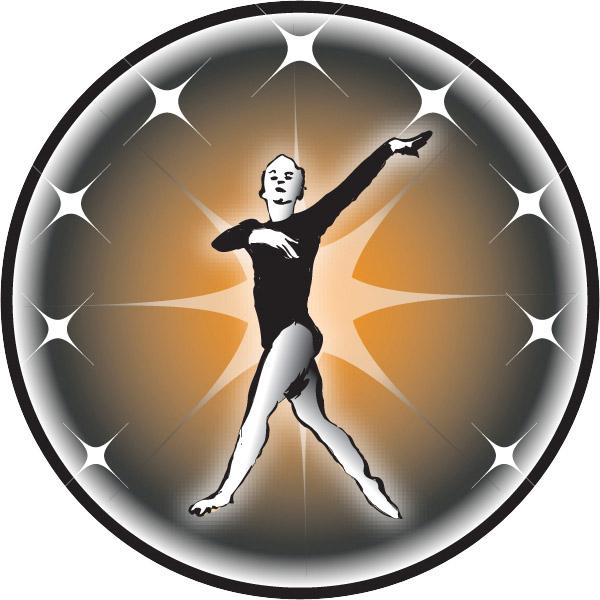 Female Gymnast Emblem