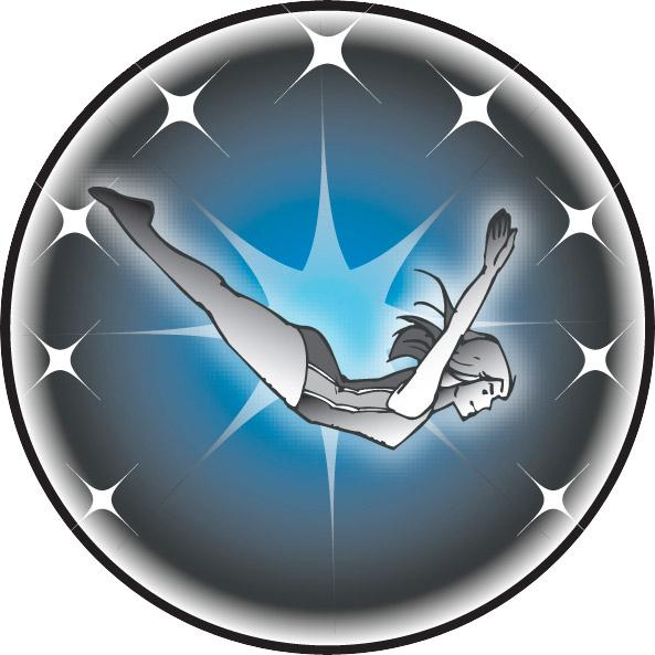 Female Diver Emblem