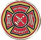 Volunteer Fire Department Emblem