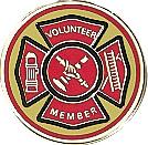 Volunteer Fire Department Emblem