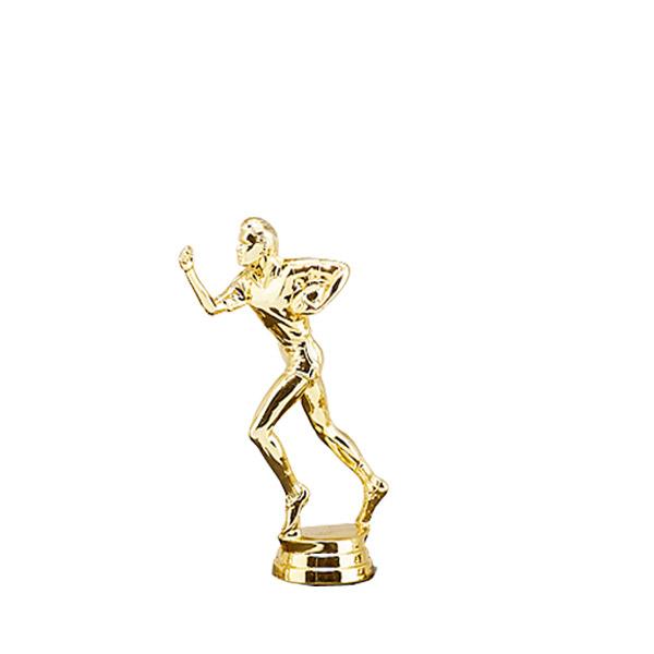 Female Flag Football Gold Trophy Figure