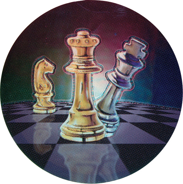 Chess Holographic Emblem - HG 11