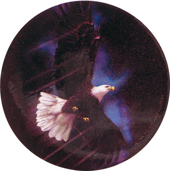 Eagle Holographic Emblem - HG 18