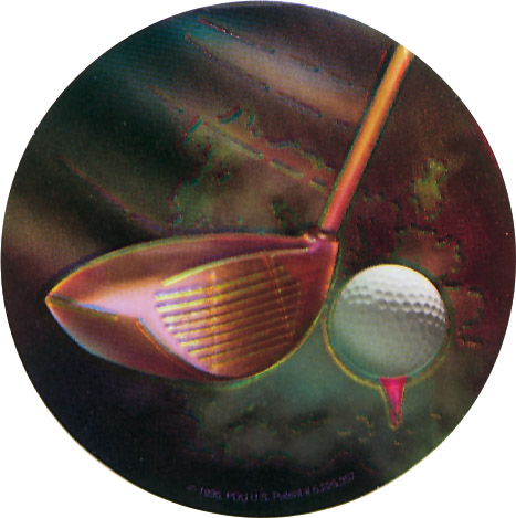 Golf Holographic Emblem - HG 23