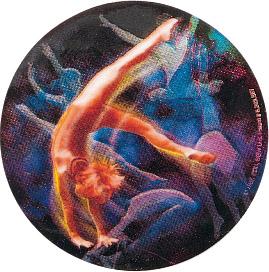 Gymnastics Female Holographic Emblem - HG 25