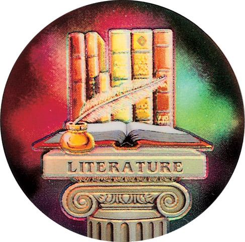 Literature Holographic Emblem - HG 32