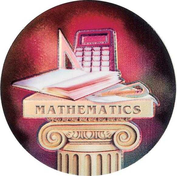 Math Holographic Emblem - HG 33