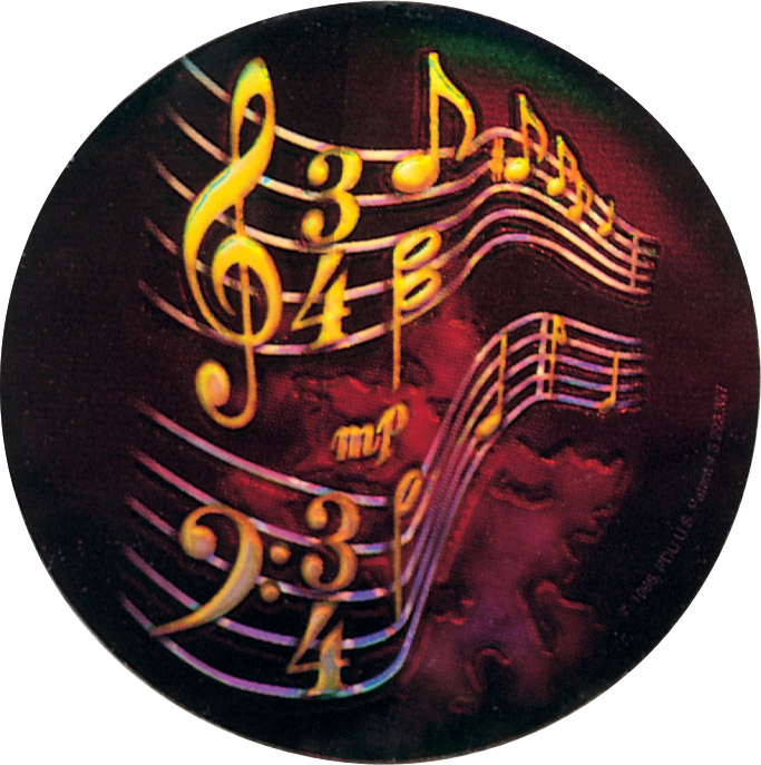 Music Holographic Emblem - HG 35