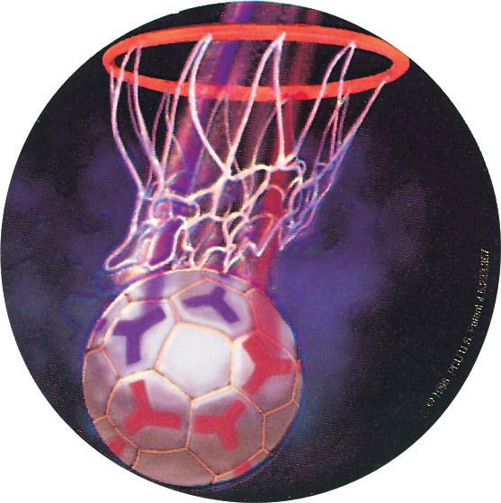 Netball Holographic Emblem - HG 37