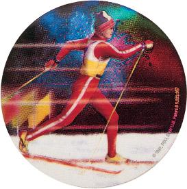 Ski Cross Country Holographic Emblem - HG 48